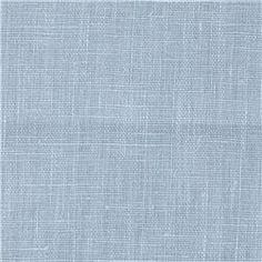 European 100% Washed Linen Ocean