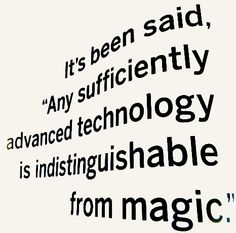 Arthur C. Clarke quote - Happy Bday AC!