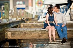 Old Town Alexandria Waterfront Engagement