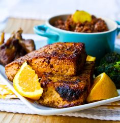 A meatless main dish full of flavor, this Sumac Ginger Tofu will make your guests' tastebuds buzz. (Healthy. Happy. Life./Kathy Patalsky)