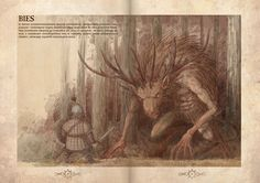 Bies - slavic demon from pre-Christian times who lived in forrests, backwoods and inaccessible swamplands. by Hetman80.deviantart.com on @DeviantArt