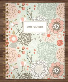 2015 2016 MONTHLY planner custom planner month at a by SHPplanners