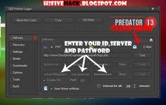 Predator  is a Key Logger Which can collects information From the Victom's PC and Send It To the Hackers.   Predator is a Powerful Key-Logge...