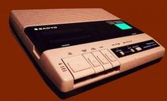 Old Timey Answering Machine---when my Dad got us this in late 80's, my sisters & I were thrilled that we wouldn't miss any of our friends or boy friends calls!
