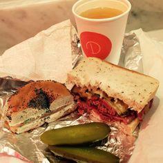 Meal Deal - Delancey & Co taste of New york, Goodge Street London