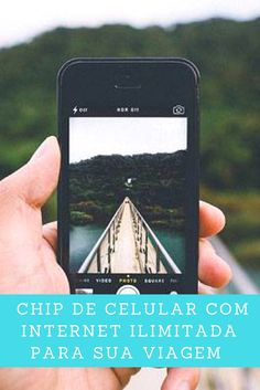Compre chip internacional com internet 4G ilimitada (a mais rápida).