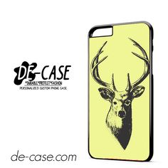 Deer Sketch DEAL-3131 Apple Phonecase Cover For Iphone 6/ 6S Plus