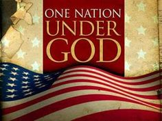 I pledge MY allegiance to the United States of America: ONE NATION UNDER GOD!  (7) Twitter