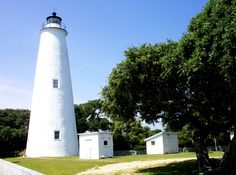 Ocracoke island lighthouse. We love the outter banks.