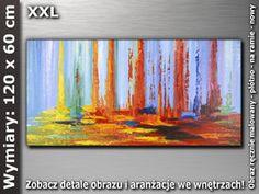OBRAZ nr AB350 120x60 cm -obrazy olejne i akrylowe-