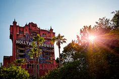 The Hollywood Tower Hotel.