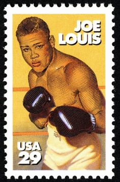1993 Joe Louis 29 Cent Postage Stamp - Mint Never Been Hinged - Scott 2766