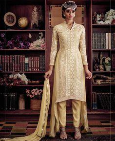 Buy Enticing Beige Party Wear Salwar Kameez online at  https://www.a1designerwear.com/enticing-beige-party-wear-salwar-kameez  Price: $49.38 USD