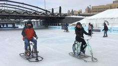 """The Ice Bikes of Buffalo are continuing to gain international acclaim. National Geographic Traveler has included the ice bikes in its """"101 Reasons to Travel Now: Get Active"""" roundup in its latest issue. The magazine notes that it has """"scoured the world"""" in search of the 101 best experiences that get travelers moving (No. 18)...."""