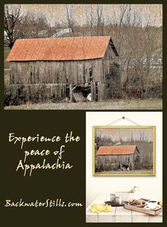 Rustic photo art with an edge