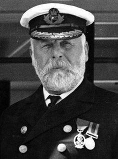 Titanic Captain Edward John Smith. He went down with his ship.,,http://www.wsbtv.com/gallery/news/disasters/haunting-photos-titanic-disaster