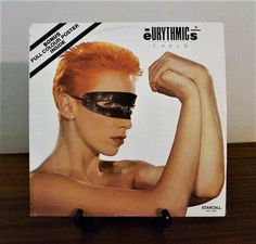 Vintage 1984 Eurythmics: Touch Vinyl LP Record Album Released by Starcall Records / Bonus Original Poster / Excellent Condition by V1NTA6EJO