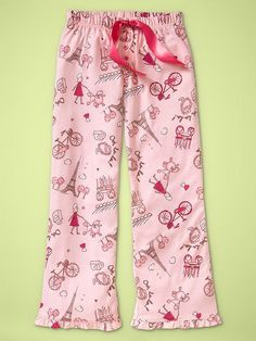 dde3bbdb0f Gap Kids Pajama Pants for Girls Adult Pajamas