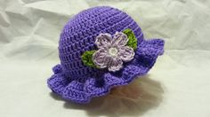 #Crochet Easy Young Ladies Spring time Hat #TUTORIAL HD #freecrochet