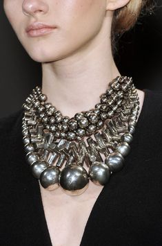 Donna Karan ethnic inspiration necklace
