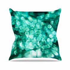 Kess InHouse Cristina Bianco Design Birds Blue Kids Round Floor Pillow