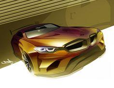 BMW Flugel - exterior sketch by Roberto Acedera