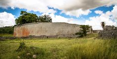 Great Zimbabwe Enclosure The outer wall of the Great Enclosure has walls of up to 36 feet (11 m) high.   The elaborate masonry work had to be very well planned, as the stones fitted each other perfectly and no mortar was used.