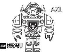 Nexo Knights Clay Ausmalbilder Lego 01 Ausmalbilder Pinterest