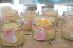 Easy Beeswax Candles