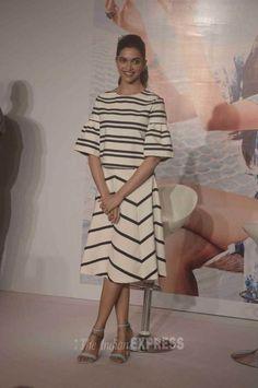 Deepika Padukone at an event for Vogue.