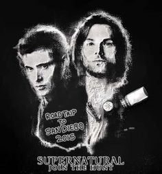 We're marking the coming 11th season of Supernatural with a tribute to the Winchester brothers, with a great portrait in salt! This CineQuest.com Exclusive Limited Edition Comic-Con Supernatural Licensed T-shirt at 2015 SDCC.