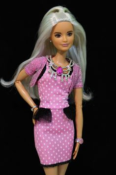 Pink Polka Dot Barbie
