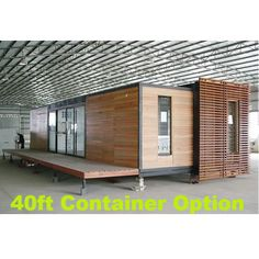 This 2 Bedroom Shipping Container Home Comes In or Options. This 2 bedroom container home is another customer favorite here at SimpleTerra. Building A Container Home, Container Buildings, Container House Plans, Prefab Shipping Container Homes, Prefab Homes, Shipping Containers, Tyni House, House Made, House Floor