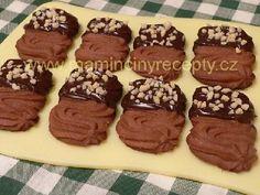 Čokoládové sušenky s mandlemi