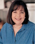 Ina Garten, I really like her recipes and entertaining ideas. Good food  is not rocket science (not at my house any way).