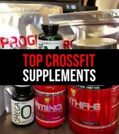 Top CrossFit Supplements By Athletic Muscle