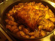 μοσχοβολάει ....... @pezoula_paros Pork, Turkey, Meat, Pork Roulade, Turkey Country, Pigs