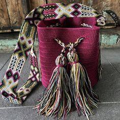 Tapestry Bag, Tapestry Crochet, Crochet Handbags, Crochet Purses, Inkle Weaving, Hand Weaving, Side Purses, Hippie Bags, Mini Purse