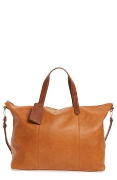 Sole Society Sole Society 'Candice' Oversize Travel Tote available at #Nordstrom