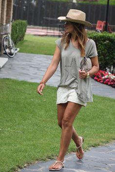 Shorts encaje .Es cuestion de estilo.Lucia Diez