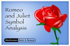 Romeo and Juliet Symbol Analysis | CCSS.ELA-Literacy RL.9-10.2  RL.9-10.1  W.11-12.9  W.9-10.2  RL.11-12.2  W.9-10.9  RL.11-12.1 W.11-12.2