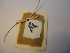 SET OF 6  Simplicity Bird Notecards by PaperBlissByNancy on Etsy, $10.00