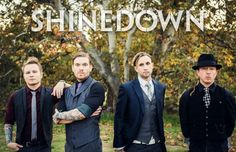 Shinedown, one of the best rock bands I've heard (: