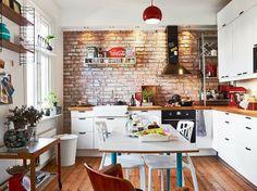 Jovem, moderno e BoHo, com uma cozinha FANTASTICA!