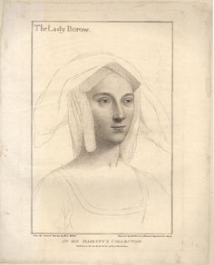 Hans Holbein - Lady Borow