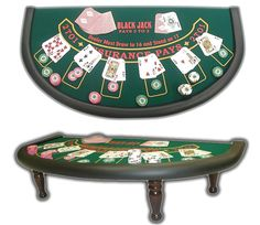 BlackJack table for SpeakEasy.  I've used this picture to help me design my own black jack table