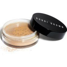 Bobby Brown's Mineral Powder —the one and only product I keep repurchasing for years