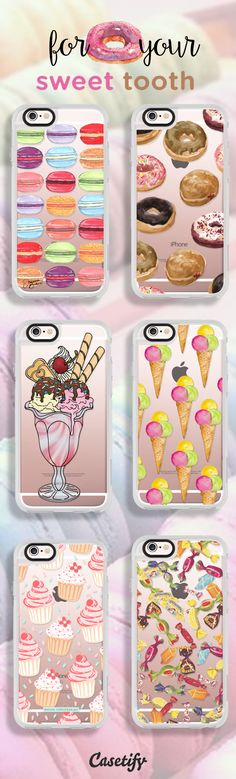 For your sweet tooth - https://www.casetify.com/artworks/bhInglg2OO