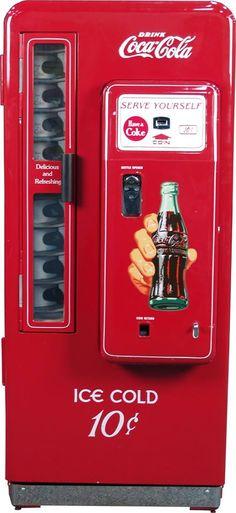 10¢ coke machine