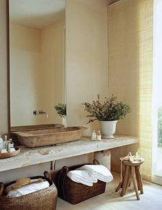 #excll #дизайнинтерьера #решения Ванная комната в стиле рустик | Excellence Group - решения